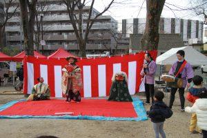 大宮前郷土芸能保存会の皆様の獅子舞
